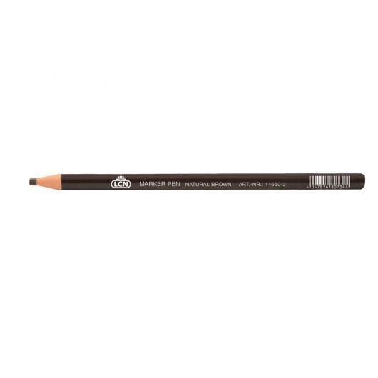 Эскизный карандаш, натуральный коричневый
