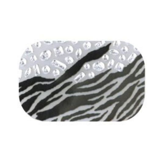 Фольга для нейл-арта, зебра