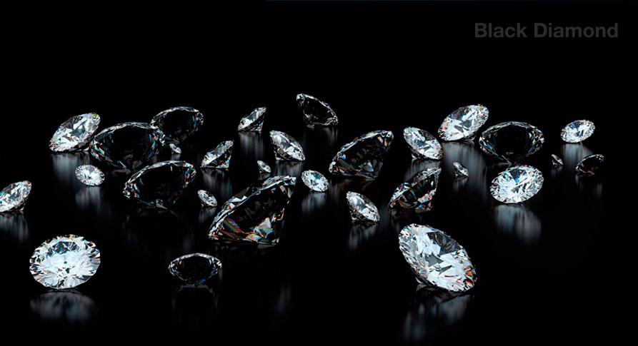 Алмазные гели для укрепления - Black Diamond