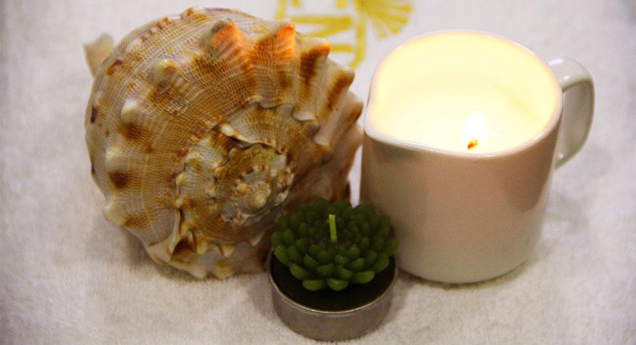 Массажные и арома-свечи