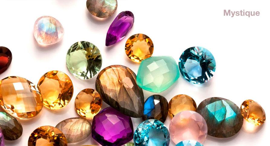 Моделирующие гели с пылью благородных камней - Mystique