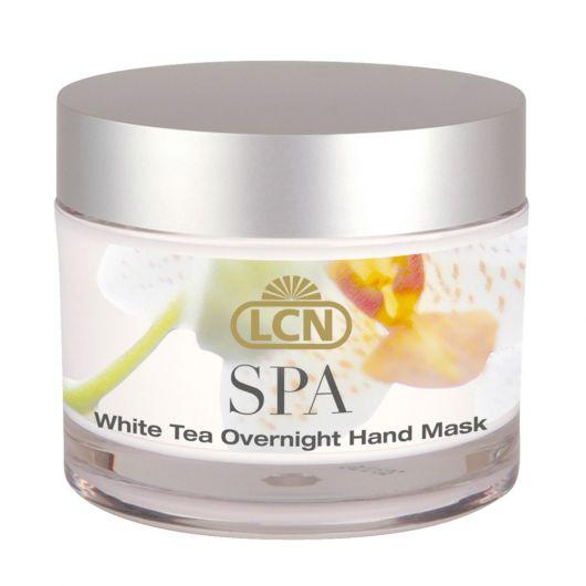 Ночная маска для гидробаланса кожи рук с орхидеей и белым чаем, 50 мл