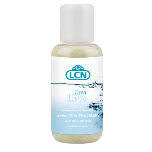 Соль для ножных ванн с 15% мочевины и маслом апельсина, 100 гр