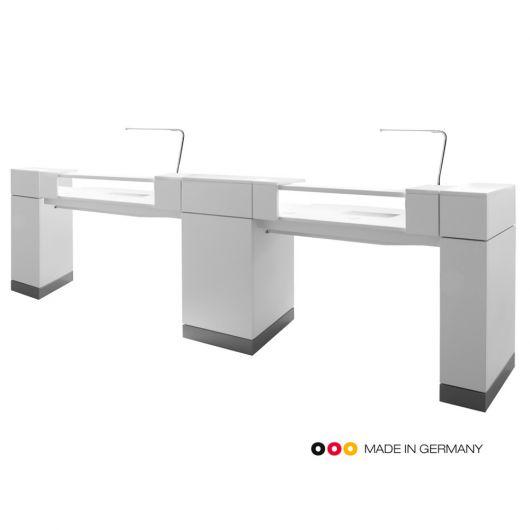 Двойной маникюрный стол