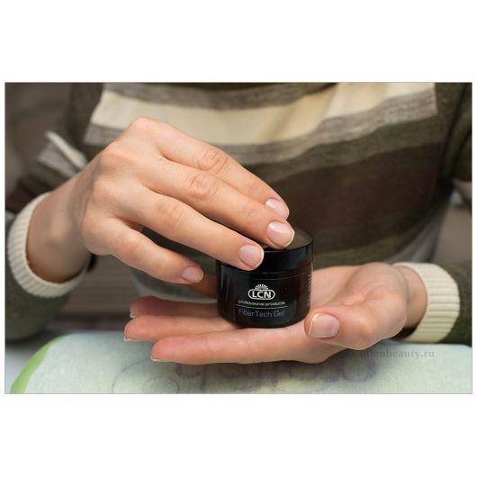 Файбер-гель с микросферами шёлка для сухих ногтей