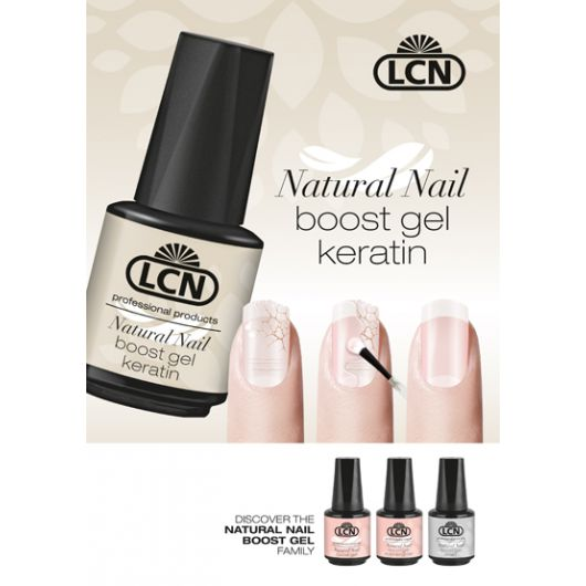 Постер A1 — Natural Nail Boost Gel Keratin