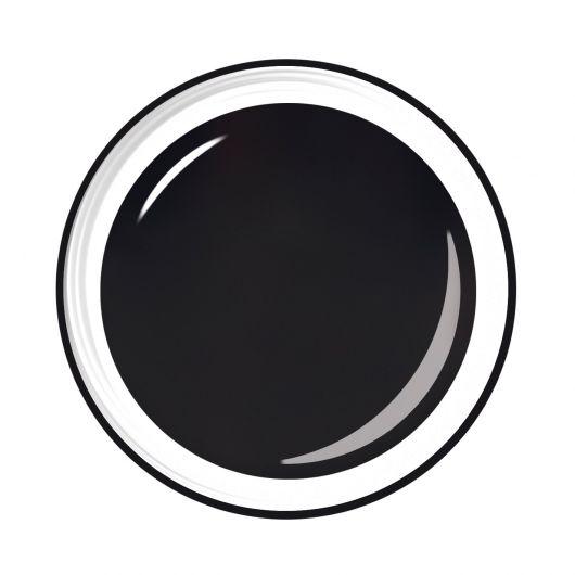 Черный гель для нейл арта, 5 мл