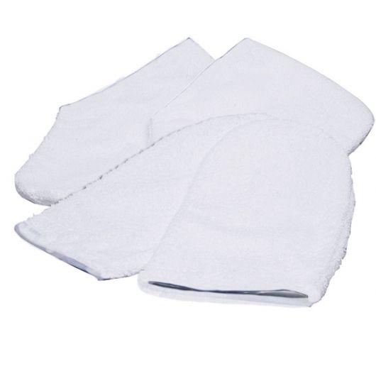 Махровые варежки для парафинотерапии рук