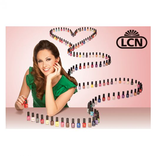 Постер A1 - Nail Polishes by LCN