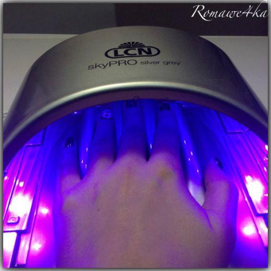 LED лампа для маникюра, серая